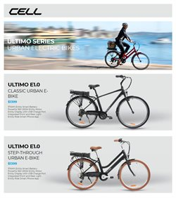 Cell Bikes catalogue ( More than one month )