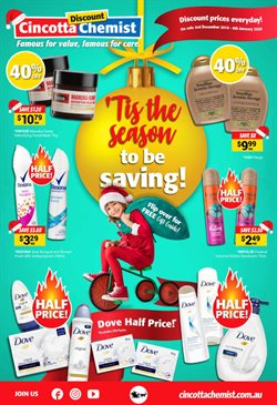 Offers from Cincotta Chemist in the Sydney NSW catalogue