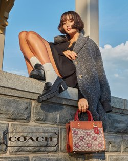 Coach specials in the Coach catalogue ( More than one month)