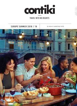 Travel offers in the Contiki catalogue in Sydney NSW
