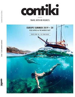 Travel & Leisure offers in the Contiki catalogue in Baldivis WA