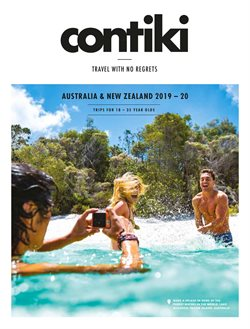 Travel & Leisure offers in the Contiki catalogue in Sydney NSW