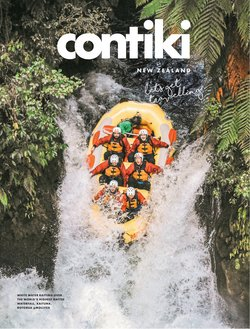 Travel & Leisure specials in the Contiki catalogue ( More than one month)
