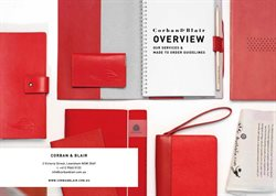 Offers from Corban & Blair in the Lewisham TAS catalogue