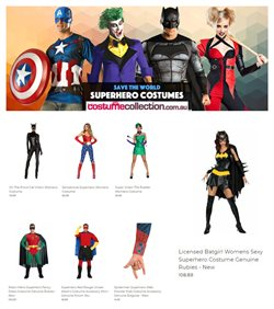 Offers from Costume Collection in the Brisbane QLD catalogue