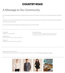 Country Road catalogue ( 2 days ago )