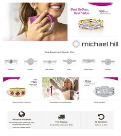 Offers from Michael Hill in the Adelaide SA catalogue