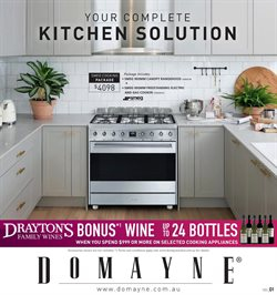 Homeware & Furniture offers in the Domayne catalogue in Gold Coast QLD