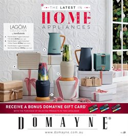 Offers from Domayne in the Perth WA catalogue