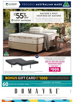 Homeware & Furniture specials in the Domayne catalogue ( 10 days left)