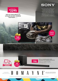 Homeware & Furniture specials in the Domayne catalogue ( Expires today)