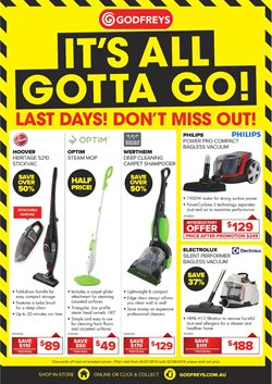 Homeware & Furniture offers in the Godfreys catalogue in Bairnsdale VIC