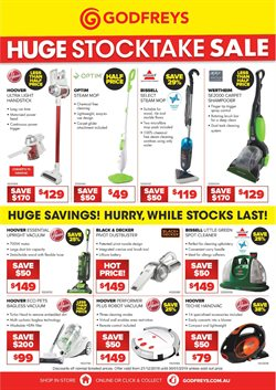 Homeware & Furniture offers in the Godfreys catalogue in Bowral NSW