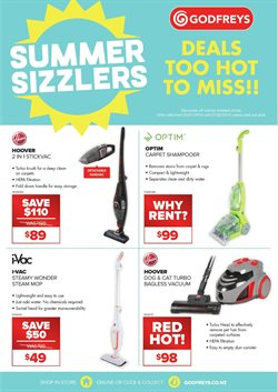 Offers from Godfreys in the Mandurah WA catalogue