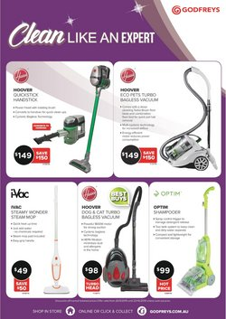 Offers from Godfreys in the Brisbane QLD catalogue