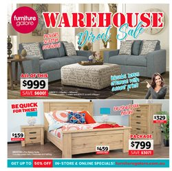 Offers from Furniture Galore in the Melbourne VIC catalogue