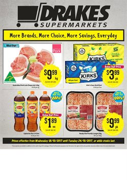 Offers from Drakes in the Brisbane QLD catalogue