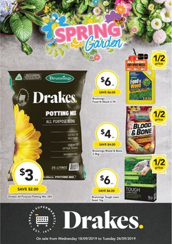 Offers from Drakes in the Beverley WA catalogue