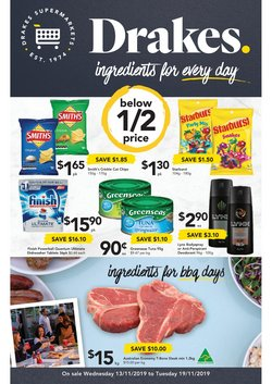 Offers from Drakes in the Toowoomba QLD catalogue