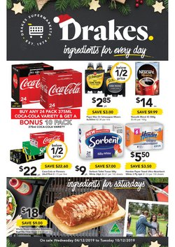 Offers from Drakes in the Gold Coast QLD catalogue