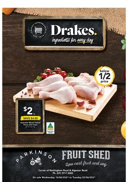 Drakes specials in the Drakes catalogue ( Published today)