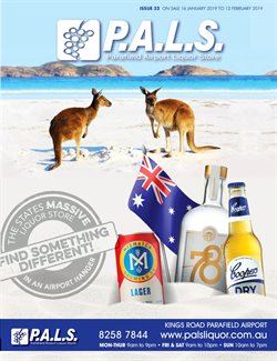 Offers from P.A.L.S. in the Adelaide SA catalogue