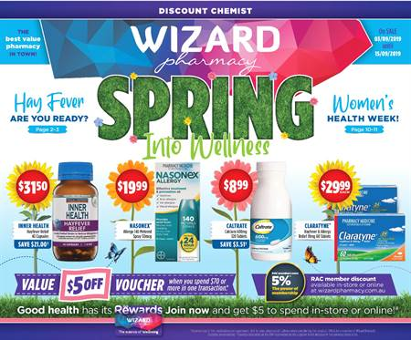 Wizard Pharmacy | Catalogues & Sale [September 2019]
