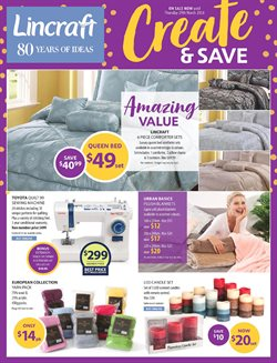Homeware & Furniture offers in the Lincraft catalogue in Gold Coast QLD