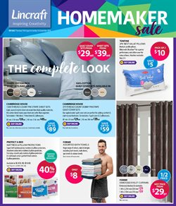 Offers from Lincraft in the Melbourne VIC catalogue