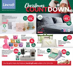Offers from Lincraft in the Brisbane QLD catalogue