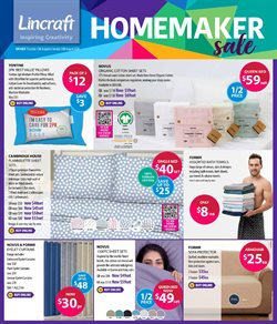 Homeware & Furniture offers in the Lincraft catalogue in Melbourne VIC ( 2 days ago )