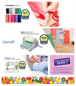 Lincraft catalogue ( Expired )
