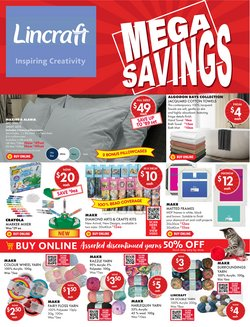 Homeware & Furniture specials in the Lincraft catalogue ( 8 days left)