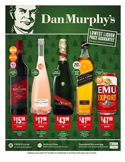 Offers from Dan Murphy's in the Brisbane QLD catalogue