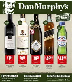 Supermarkets offers in the Dan Murphy's catalogue in Launceston TAS ( Expires tomorrow )