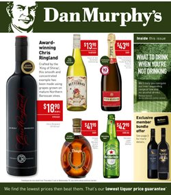 Dan Murphy's catalogue in Traralgon VIC ( 2 days ago )