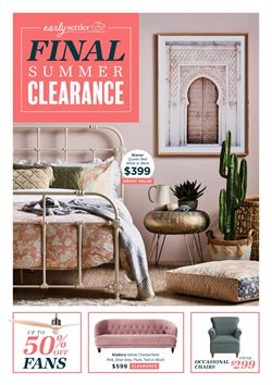 Canberra Outlet Centre offers in the Early Settler catalogue in Canberra ACT