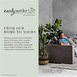 Homeware & Furniture offers in the Early Settler catalogue ( More than one month )