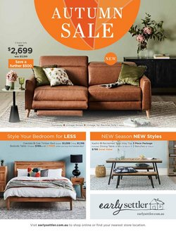 Homeware & Furniture offers in the Early Settler catalogue in Sydney NSW ( 1 day ago )
