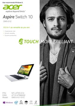 Offers from Acer in the Sydney NSW catalogue