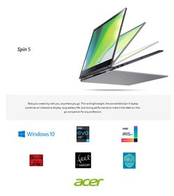 Acer specials in the Acer catalogue ( 23 days left)