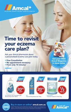 Pharmacy, Beauty & Personal Care offers in the Amcal Pharmacies catalogue in Sydney NSW