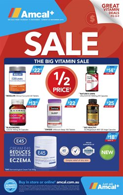 Pharmacy, Beauty & Personal Care offers in the Amcal Pharmacies catalogue in Lakes Entrance VIC