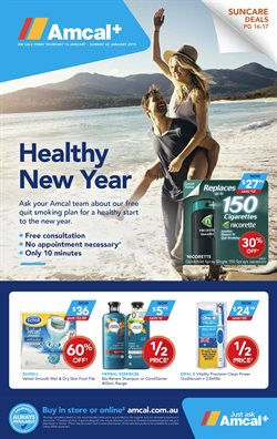 Offers from Amcal Pharmacies in the Melbourne VIC catalogue