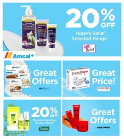 Offers from Amcal in the Melbourne VIC catalogue