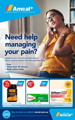Amcal catalogue in Perth WA ( 17 days left )