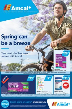 Pharmacy, Beauty & Health specials in the Amcal catalogue ( 4 days left)