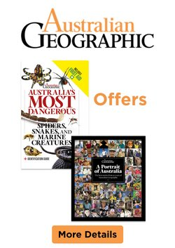 Australian Geographic specials in the Australian Geographic catalogue ( 29 days left)