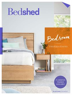 Offers from Bedshed in the Perth WA catalogue