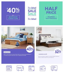 Bedshed specials in the Bedshed catalogue ( Expired)
